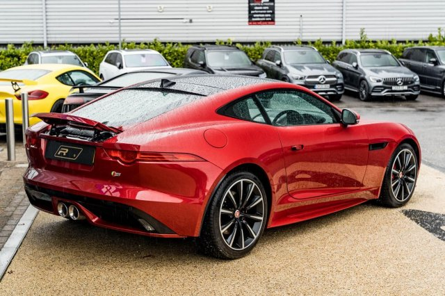 "Available now this 2016 (16) Jaguar F-Type Supercharged S example with 21,026 miles covered & only 1 previous owner. Yours for £36,950!⁣ ⁣ Specifications include; Panoramic Glass Roof, Alloy Wheels - 19"" Orbit Gloss Black/Diam.Turned, Reverse Park Camera with Guidance, Jaguar Smart Key System w. Keyless Start & Entry, Steering Wheel Heated, Front Parking Aid, Heated Windscreen with Timer, Air Quality Sensor.⁣ ⁣ Full advert on our website, link in bio!⁣ ⠀⠀⠀ ⠀⠀⁣⁣⁣⁣⠀⁣ ———⁣ #jaguar #ftype #cars #car #carsofinstagram #auto #supercars #carlifestyle #instacar #luxury #photography #automotive #like #racing #turbo #supercar #follow #instacars #carswithoutlimits #luxurycars #redlinesocial"