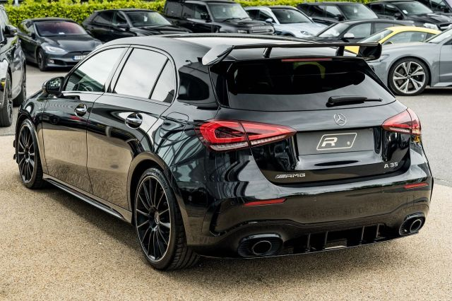 Is this Mercedes shot at the VW Golf R... It's a pocket rocket that's for sure!  Full advert on our website, link in bio! ⠀⠀⠀ ⠀⠀⠀ ——— #mercedes #mercedesbenz #mercedesaclass #amg #a35amg #cars #car #carsofinstagram #auto #supercars #carlifestyle #instacar #luxury #photography #automotive #like #racing #turbo #supercar #follow #instacars #carswithoutlimits #luxurycars #redlinesocial