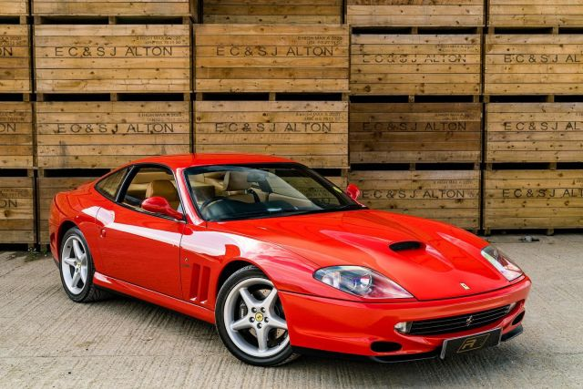 """""""The decision to revert to a front-engined layout for the 550 Maranello led to the creation of an all-time Ferrari great."""" - EVO @cim_redline 📸  Full advert on our website, link in bio! ⠀⠀⠀ ⠀⠀⠀ ——— #ferrari #ferrari550 #ferrari550maranello #cars #car #carsofinstagram #auto #supercars #carlifestyle #instacar #luxury #photography #automotive #like #racing #turbo #supercar #follow #instacars #carswithoutlimits #luxurycars #redlinesocial"""